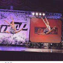 Maddie and Kalani duet at Jump - 14Feb2015