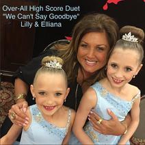 720 Elliana and Lilliana duet costume