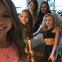 Mackenzie Maddie Gianna Alison Ryan - in NYC for TDA - 2015-07-05