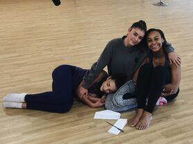 706 Kalani, Nia and Kendall at ALDC LA