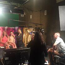 Jill and Kendall filming interviews - Bryan Stinson - 2015-05-28
