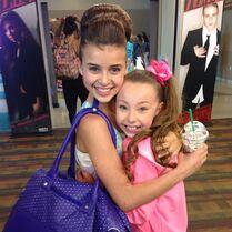 Kalani instagram with Sophia april2013