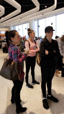 629 Kendall Kalani Gianna airport