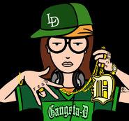 Gangsta D by S C