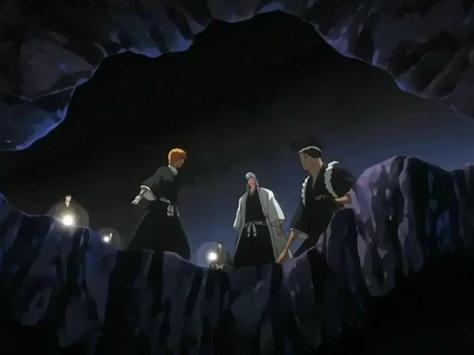 File:Ukitake searching with Kiyone & Sentaro.jpg