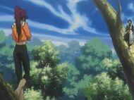 Yoruichi Soifon Battle 1