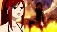 Erza remembers her S Class Exam