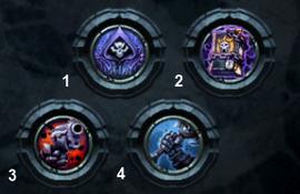 The four Legendary Enhancements