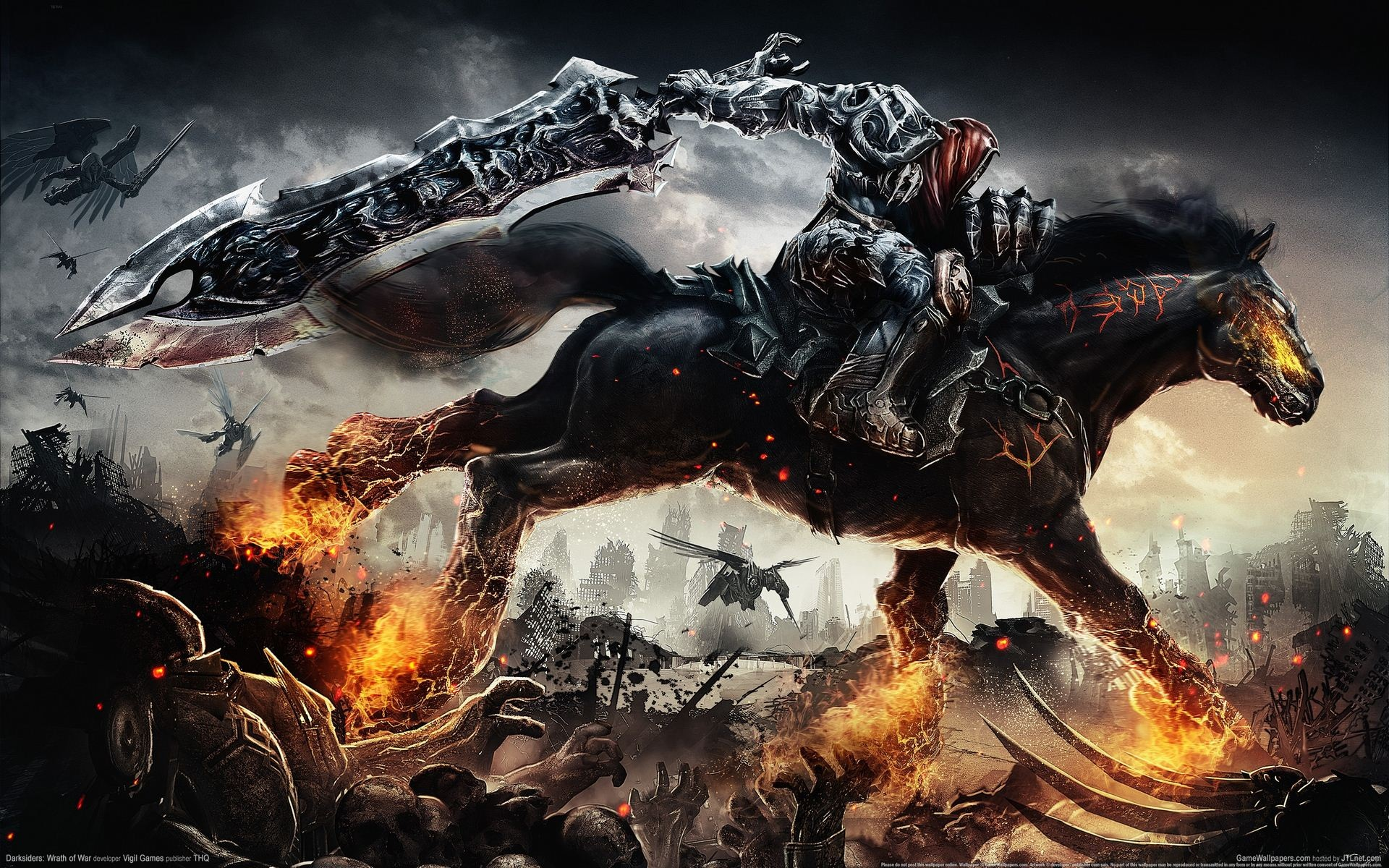 darksiders 1 war - single player game for pc