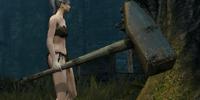 Blacksmith Giant Hammer