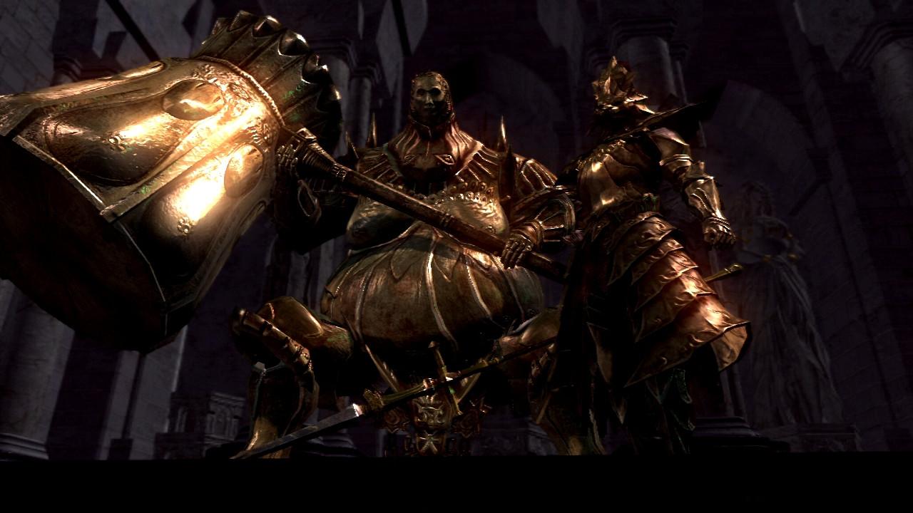 Image result for Dragon Slayer Ornstein and Executioner Smough dark souls