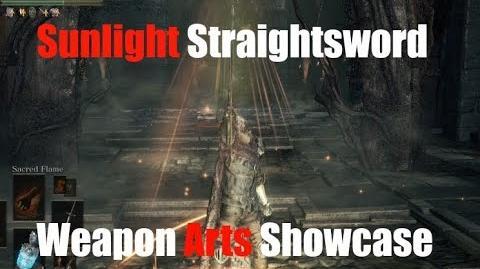 Dark Souls 3 Sunlight Straightsword - Weapon Arts Showcase