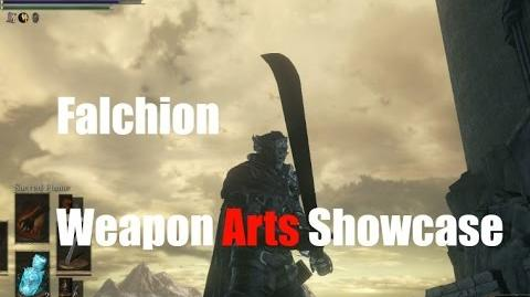 Dark Souls 3 Falchion - Weapon Arts Showcase