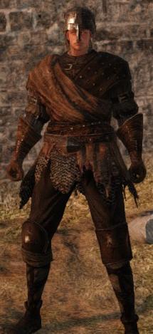 Hard Leather Set