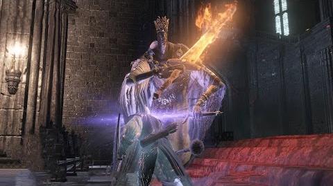 Pontiff Sulyvahn Boss Fight - Dark Souls 3