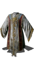 White Priest Robe