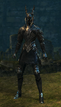 Black knight set male