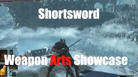 Dark Souls 3 Shortsword - Weapon Arts Showcase