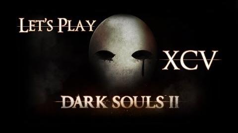 Let's play Dark souls II - 95 - Talking with Manscorpion Tark