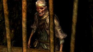 Undead female merchant