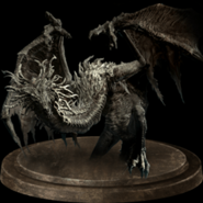 Ancient wyvern trophy