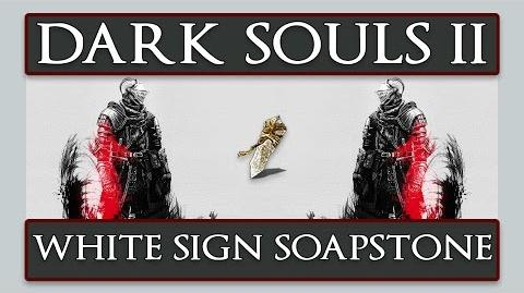 White Sign Soapstone (Dark Souls II)