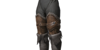 Black Leather Boots (Dark Souls III)