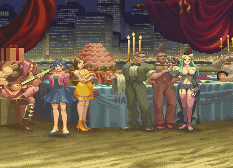 Ken Masters Street Fighter Alpha 2 stage