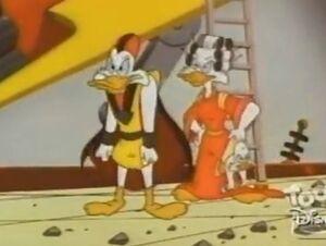 The Secret Origins of Darkwing Duck - Negaduck's parents