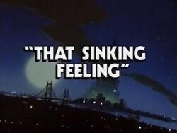 That sinking feeling
