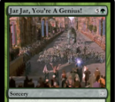 Jar Jar, You're A Genius! (Droidikar Card)