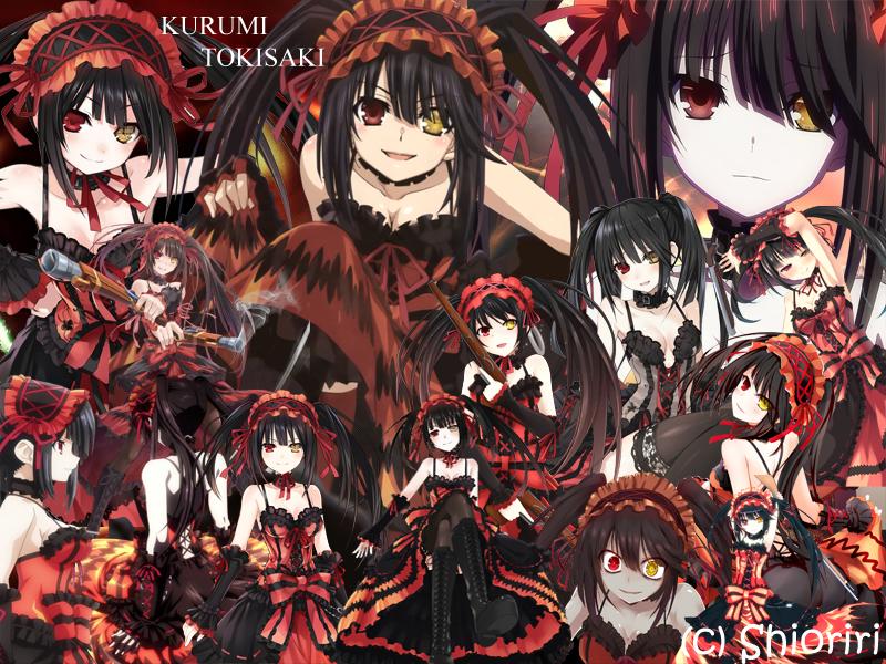 نتیجه تصویری برای kurumi tokisaki