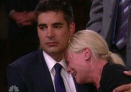 Sami cries on Rafe