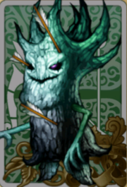 Pierced Poplar Tree