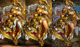 Gigantes Helios art changes