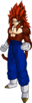 Vegetto ssj4 v2 by db own universe arts-d48047p