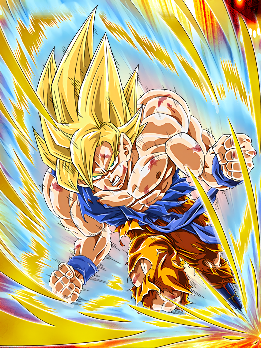 Deadly awakening super saiyan goku dragon ball z dokkan battle wikia fandom powered by wikia - Super sayen 10 ...