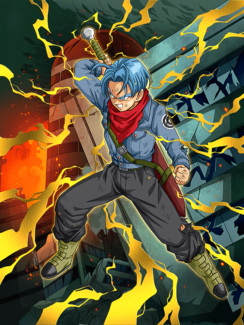 Confronting the Darkness Trunks (Teen) (Future) | Dragon ...
