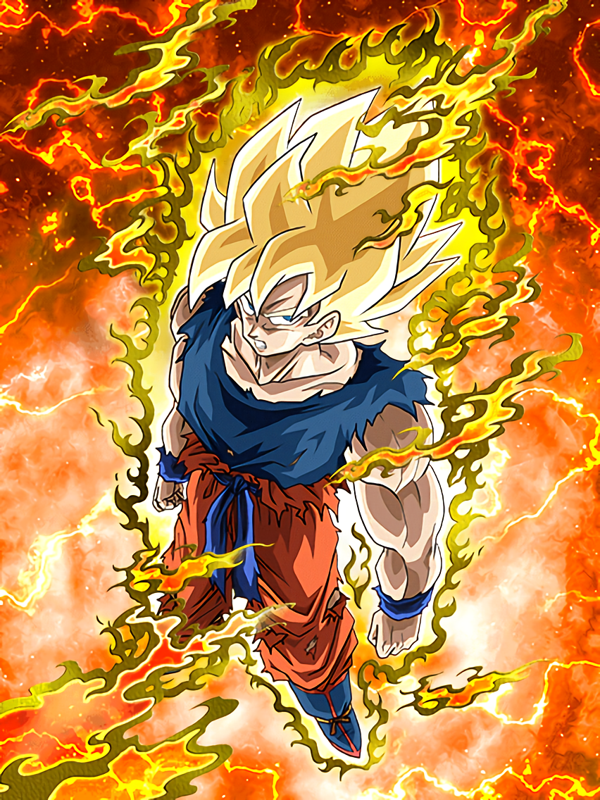 Legendary super saiyan super saiyan goku dragon ball z - Goku 5 super saiyan ...