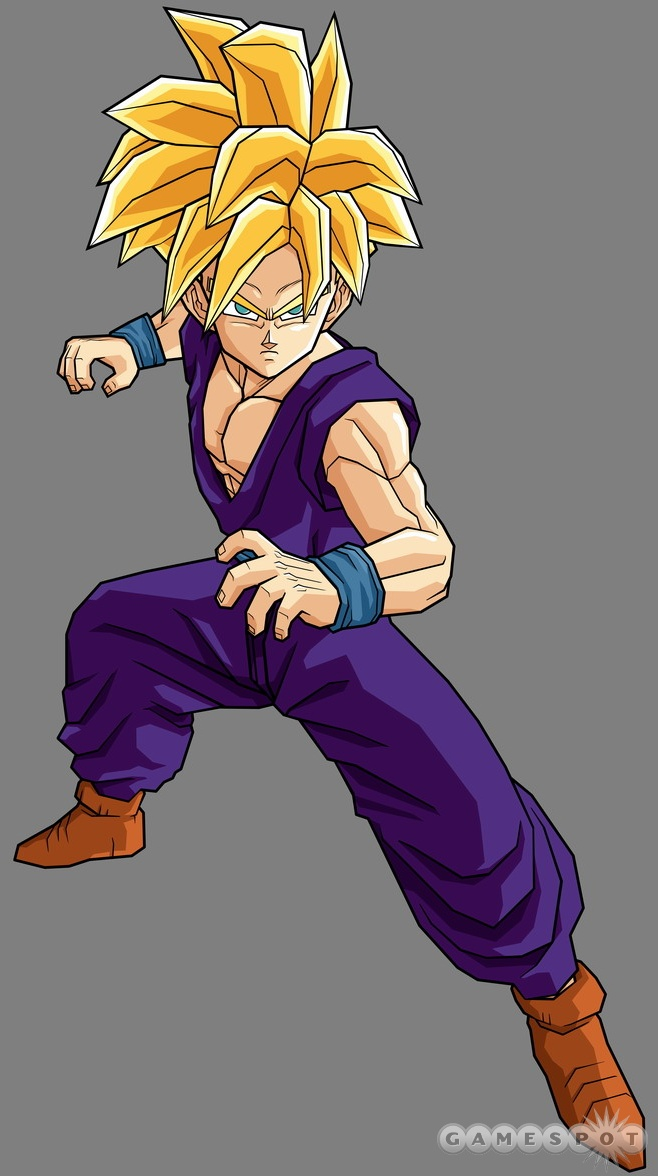 Super Saiyan Teen Gohan Dragon Ball Z Budokai Tenkaichi