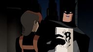 Batman uncovers the Mystery