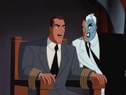 Two-Face interrogates Corcoran