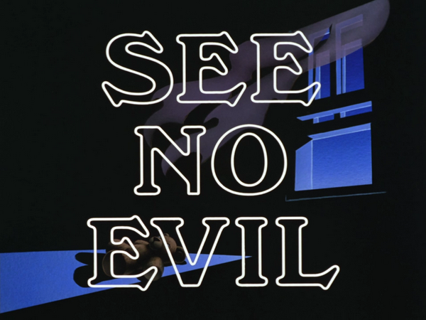 Image result for batman the animated series see no evil
