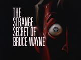 The Strange Secret of Bruce Wayne-Title Card