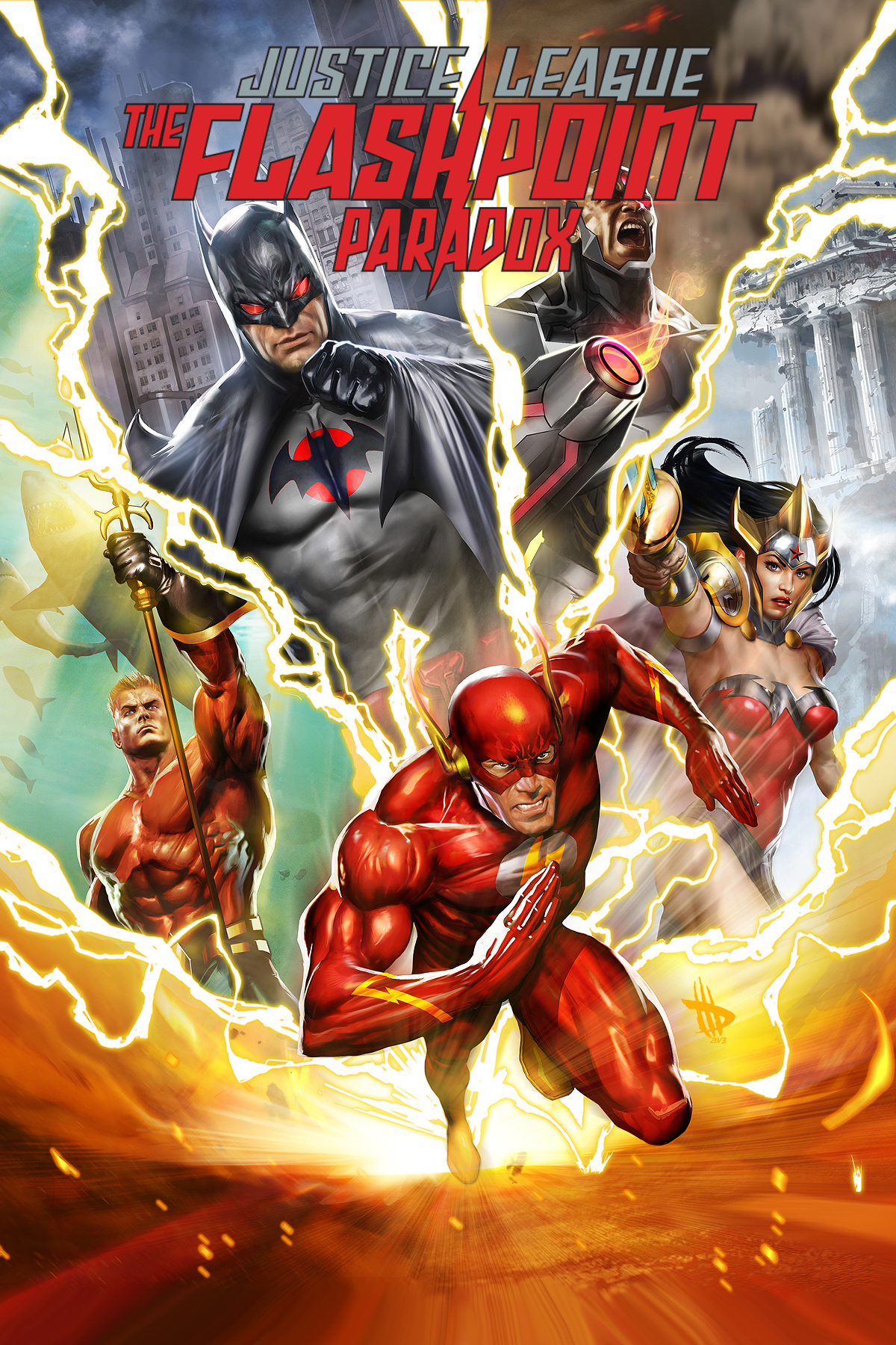 Justice League The Flashpoint Paradox Deutsch