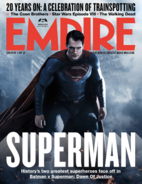 Empire - Batman v Superman Dawn of Justice March 2016 variant cover - Superman