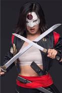 Suicide Squad character portrait - Katana