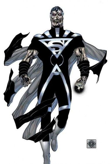 Black lantern superman super