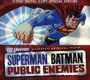 Superman/Batman: Public Enemies Home Video