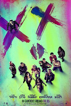 Suicide Squad Team Poster